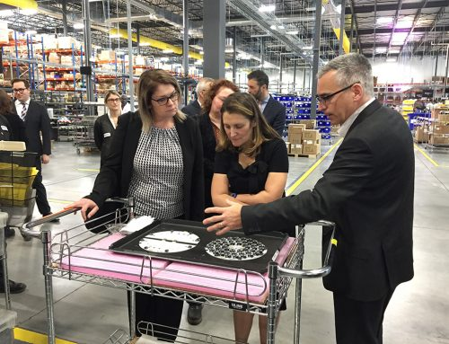 Foreign Affairs Minister Chrystia Freeland Visits the South Shore