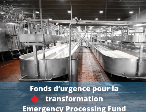 Agropur coopérative of Saint-Hubert receives support to improve worker safety through Emergency Processing Fund