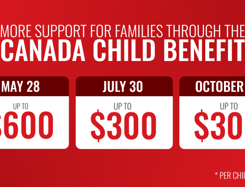 Providing Additional Support for Families Through the Canada Child Benefit (CCB)